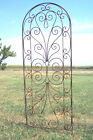 Wrought Iron Heart Trellis - Pretty Metal Support for Vines and Garden Flowers