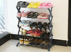 1x New 3 Tiers 5 Tiers Space Save Combination Shoes Organizer Shelf  Shoe Rack