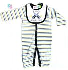 BABY BOYS CLOTHES DESIGNER STYLE PLAYSUIT SUMMER OUTFITS SETS 0-3-6-9-12 MONTHS