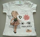 "GELATI NEU süßes Shirt T-Shirt Top ""little Darling"" Engel 68 74 80 86 92 98"