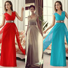 Long Chiffon Wedding Evening Cocktail Party Ball Gown Prom Bridesmaid Maxi Dress
