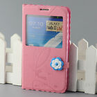 Deluxe Flip Leather Wallet Pouch Case Cover For Samsung Galaxy Note 2 II N7100