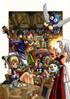 Fairy Tail Guild Manga  Poster, Various sizes from A3,A4