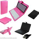 "7"" 9"" Inch USB Leather Keyboard Case Stand Cover For Android Tablet PC A13 A23"