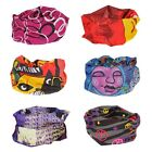 Bundle Monster 6pc Seamless Style Bandanna Headwear Scarf Wrap - Mixed Sets