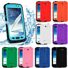 Shockproof Waterproof Dirt Dust Proof Case Cover For Samsung Galaxy Note 2 N7100