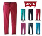 Levi's Super Stretch Denim Legging Skinny Jean Adjst. Waist 4 5 6 7 8 10 12 (Q)