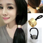 Headband Hair Band Cuff Circle Elastic Wrap Chic Women Ponytail Holder Ring Rope