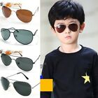 9 Colors Children Metal Classic Aviator Color Lens Sunglasses Eyeglasses New