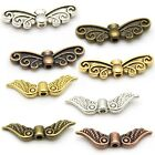 Wing Beads - Angel, Fairy, Sprite, Bird, Dragonfly Wings - Tibetan Silver Alloy
