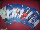 2013/14 - WIGAN HOME PROGRAMMES CHOOSE FROM