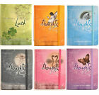Thoughts Notebook - GEMSTONE COLOUR HARDBACK NOTE BOOK - Choice of Design