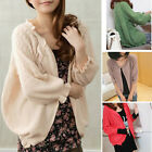 STO Women Summer 3/4 Sleeve Sunscreen Air Conditioning Shirt Cardigan Sweater