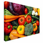 New modern Vegetable madness kitchen Canvas Wall Art Print Large + Any Size