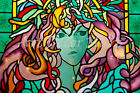 Medusa Of Colors  - CANVAS OR PRINT WALL ART