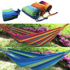 Fashion Thick Canvas Hammock Camping Swing Hanging Chair Outdoor Garden Hammock