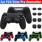 Camo Silicone Rubber Skin Case Gel Cover Grip for Playstation 4 PS4 Controller