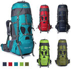 75L Extral Load Outdoor Backpack Hiking Camping Rucksack Daypack Travel Bag