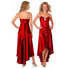 Gorgeous Diamond Embellished Formal Cocktail Party Prom Dress Scarlet