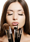 Make Up, Brushes, Beauty, Lips A3,A4 Print Poster