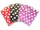 New 85p Reliable Plastic Gift Jewellery Bag Shopping Package Carry 19x26cm Dot