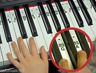 PIANO KEYBOARD Music NOTE STICKERS Lesson Key Decal Learn Teach Play - 52 Labels