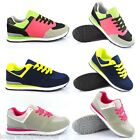 LADIES WOMENS GRILS SUEDE BLAZER TRAINERS RUNNING WALKING AIR SPORTS SHOES SIZES