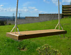 Solid wood Tree Swing Seat with extra long rope