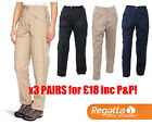 3 Pairs for £18 inc P&P! Regatta Womens Action Trousers Cargo Combat Outdoor