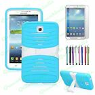 Heavy Duty Hybrid Case Cover For 7 inch Galaxy Tab 3 Tablet With Built in Stand