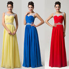 Long Wedding Bridesmaid Cocktail Prom Gowns Homecoming Formal Evening Dress Ball