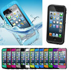New Waterproof Shockproof Dirt Proof Durable Case Cover For Apple iPhone5 5s