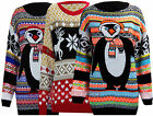 P36 WOMENS LADIES MULTI COLOUR CHRISTMAS FESTIVE WINTER PLUS SIZE XMAS JUMPER.