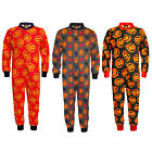 Manchester United FC Official Football Gift Boys Kids Pyjama Onesie