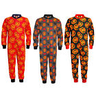 Manchester United FC Official Football Gift Boys Kids Pyjama Onesie (RRP £14.99)