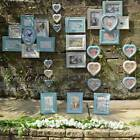 Vintage Style Photo Frame Multi Picture Collage Frames Shabby Chic Heart Frames
