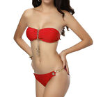 Fashion Bikini Set Push-Up Metal Buckle Swimwear Padded Bra Bandeau Swimsuit 27