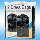 2 x DRESS Travel bags storage covers clothes garment jacket protects travelling