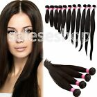 """New 100% 6A Virgin Malaysian Straight Human Hair Extension Unprocessed 10""""-30"""""""
