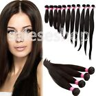 "New 100% 6A Virgin Malaysian Straight Human Hair Extension Unprocessed 10""-30"""