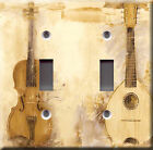 Light Switch Plate Cover - Acoustic guitars - Instruments music classical sound