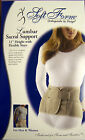 "Soft Form Lumbar Sacral Support 11"" Height with Flexible Stays BACK Support"