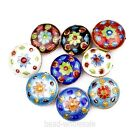 Colorful Wholesale Hot Great Equisite Coin Round Cloisonne Loose Beads