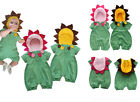 Baby Girl Party Costume, Sunflower Fancy Outfit Bodysuit, Summer & 100% Cotton