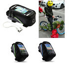 Roswheel Black Cycling Bike Bicycle Frame Pannier Pouch Bag Mobile Phone Holder