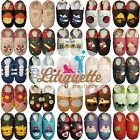 Litiquette soft sole slippers  baby boy girl  leather infant crib shoes