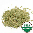 Fennel Seed - Organic Certified - Pick Quantity
