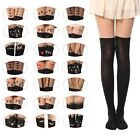Womens Girls Sexy Cotton High Socks Thigh High Hosiery Stockings Over The Knee