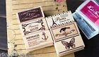 kawaii zakka Wood Vintage MESSAGE STAMP assorted cute craft wooden rubber stamps