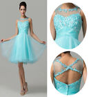 New Girls Pretty Formal Prom Party Cocktail Bridesmaid Gown Short Evening Dress